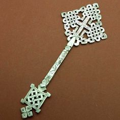 ETHIOPIAN COPTIC HAND CROSS ORTHODOX CHURCH AFRICAN ART CHRISTIAN ETHIOPIE CROIX