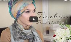 Hijab Turban : Voici Comment Mettre Le Hijab Turban   astuces hijab
