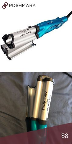 """Bedhead Wave Artist Deep Waver for Beachy Waves Tourmaline ceramic """"waving iron"""" that gives deep, masterfully sculpted waves.  Hair turns out soft, shiny, without frizz.  Heats up to 400F. Beloved by the internet: https://www.buzzfeed.com/gortneycourter/this-hair-waver-will-give-you-the-beach-waves-youve-always?utm_term=.pxr02aj7#.rr6mVraD  Got it as a gift, I've only used it once (my hair's already pretty wavy).  Perfect condition BedHead Accessories Hair Accessories"""