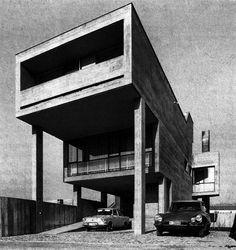 Private House, Stabio Switzerland (1965-67) | Mario Botta