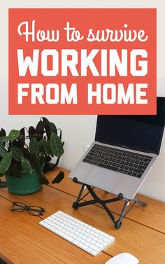 If you're wondering how to make the best of your home office situation, here are all my tips on staying sane and being productive while working from home! / A Globe Well Travelled Home Office Setup, Desk Setup, Study Desk, Work Desk, Ikea Dressing Table, Computer Set, Travel Jobs, Getting Bored, Go Outside