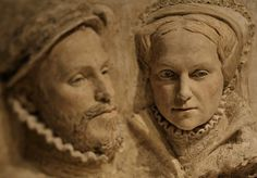 Philip II & Mary Tudor, by PORTRAIT SCULPTOR, Suzie Zamit >>> Such a sad and odd union. To him, she was just a politically useful marriage; but given the sorrows of her youth, she hoped for a real relationship with him. Los Tudor, Mary I Of England, Queen Of England, Elizabeth I, Asian History, British History, Winchester, Tudor Monarchs, Queen Mary