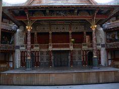 London, UK - Shakespeare Globe Theatre