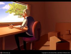 Moving by Anneliese Mak | 2D | CGSociety