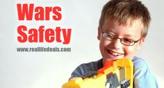 Safety Glasses for Nerf Wars – Real Life Deals | BlogFrogs.com