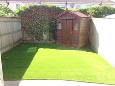 Here are examples of some of the Back Gardens we have transformed over the years Can Design, Back Gardens, Grass, Shed, Layout, Outdoor Structures, Gallery, Page Layout, Roof Rack