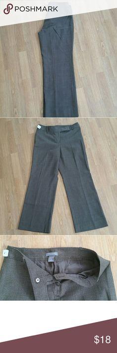Beautiful Ann Taylor Trousers - Petite Like new Ann Taylor Loft lined trousers in a beautiful brown pattern. Size 6 petite. Ann Taylor Pants Trousers