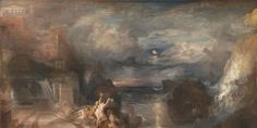 Joseph-Mallord-William-Turner-Paintings-The-Parting-of-Hero-and-Leander_660x330.jpg (660×330)