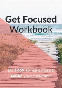 Get Focused Workbook - Kerryn Hewson Productivity & Systems Strategist