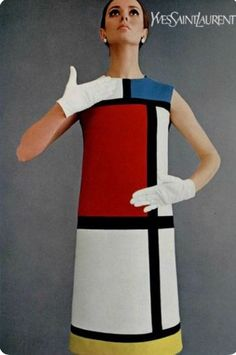 1965 Yves Saint Laurent, Mondrian Dress. He was a European fashion designer who impacted fashion in the 1960s to the present day. In the 1980s, Yves Saint Laurent was a true icon becoming the first designer to have a retrospective on his work at the Metropolitan Museum in NYC. He influenced fashion when he debuted Le Smoking in 1966 – a menswear-inspired tuxedo, tailored for women – it became an instant classic for women who wanted to appear equal parts glamorous and strong.