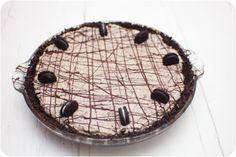 Chocolate Oreo Fudge Cream Pie via Cupcake Crazy Gem!