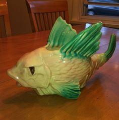 McCoy Pottery Flying Fish Planter   eBay