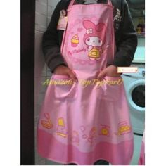 Sanrio My Melody Kitchen Cooking Gardening Apron Adults