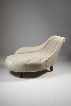 Uno Åhrén; Chaise Longue for Mobilia, 1923.