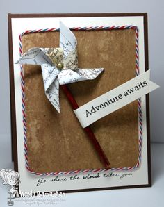 Graduate Go where the wind takes you by Nin Nin - Cards and Paper Crafts at Splitcoaststampers