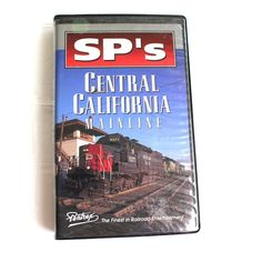 SPs Central California Mainline Southern Pacific Railroad Train VHS Pentrex