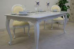 Tavolo Ovale Bianco : Tavolo ovale bianco shabby chic farmhouse pinterest tavolo