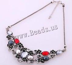 Collar/Necklace http://www.beads.us/es/producto/Collar-de-Aleacion-de-Zinc_p119185.html