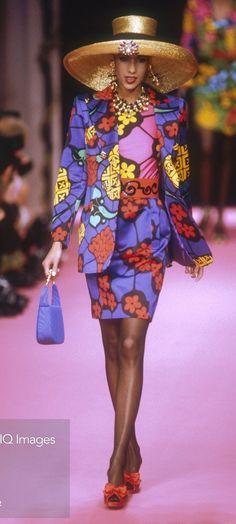 Christian Lacroix Spring-Summer 1992 Fashion Show