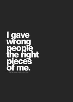 Oh boy did I ever!!! They are in the past and I have moved on!  They are not worth anything ....