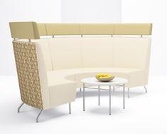 Arcadia Contract - Intima Modular Quarter Round Lounge