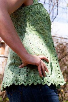 Inamorata tank: Knitty Spring+Summer 2010