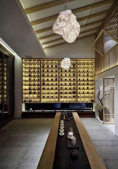 Chinese Interior, Japanese Interior, Asian Design, Chinese Design, Chinese Style, Chinese Tea Room, Tea Room Decor, Tea Lounge, Zen Style