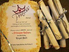 Kids Fun Party: PRINCESS ROYAL BALL INVITATION