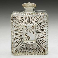 La Belle Saison Perfume Bottle by Lalique