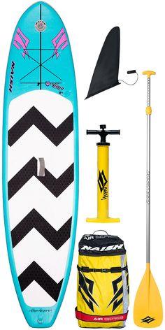 2015 Naish Alana Air SUP Inflatable Stand Up Paddle Board 11'6