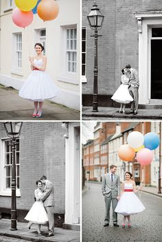 2012 Weddings is the year of the balloons. Consider your classic latex or even weather balloons for photo props and decor.