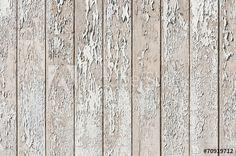 Bretterwand, Holz, abblätternder Lack, Hintergrund, grunge