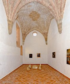 The Gothic Chapel at LA CARTUJA DE CAZALLA monastery  A 600 year old jewel of a site near Sevilla Southern Spain We rent spaces out for private celebrations concerts weddings  lacartujadecazalla.com @cartujacazalla