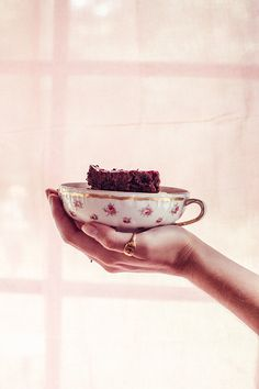 Raspberry Black Bean Brownie with Primrose // Moon Cycle Bakery