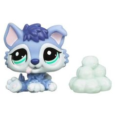 Lps husky puppy snowball pile