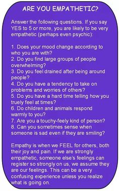 Are You Empathetic? Empathy is when we FEEL for others, both their joy and pain. Empathetic and Highly Sensitive Persons HSP Reiki, Intuitive Empath, Empath Traits, Empath Types, Highly Sensitive Person, Sensitive People Quotes, Infj Personality, Personality Characteristics, Psychic Abilities