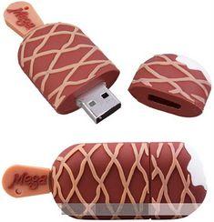 rogeriodemetrio.com: Gelado de Chocolate Bar USB Flash Drive