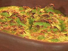 Budín de brócoli