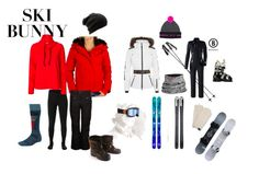 {What to Wear}: All the things to pack for a fun getaway weekend in the snow! From designer snowboards and ski's to cute and sexy outfits to wear over the weekend at a mountain cain- we've got the perfect looks   | June Johnson