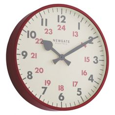 Clock watching is understandable when they look this good, so add a stylish clock to your kitchen, hallway or lounge & always be on time. Shop Habitat now. Red Clock, Clocks Back, Room Accessories, Habitats, Metal, Wall, Kitchen, Conservatory, Living Area