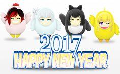 RWBY CHIBI NEW YEAR !