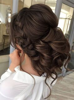 This Gorgeous Wedding Hairstyle Perfect For Every Wedding Season Looking for perfect hairstyle? Check out these Gorgeous Wedding Hairstyle from wedding updo to boho braid hairstyles…perfect For Every Wedding Season Quince Hairstyles, Best Wedding Hairstyles, Braided Hairstyles, Cool Hairstyles, Hairstyle Ideas, Bridal Hairstyle, Hair Updo, Hairstyle Braid, 1940s Hairstyles