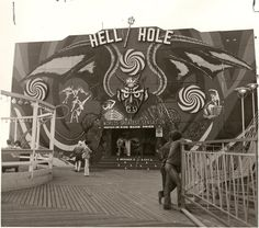 Hell Hole at Sportland Pier, Wildwooid  It was there when I was young but gone when I took my kids