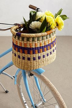 Bike Basket / anthro