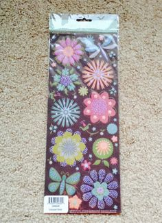 Hey, I found this really awesome Etsy listing at https://www.etsy.com/listing/189973288/new-floral-glitter-embossed-scrapbooking