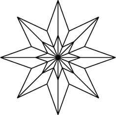 – Coloring pages for kids – Weihnachten Quilt Square Patterns, Barn Quilt Patterns, Star Patterns, Craft Patterns, Square Quilt, Stained Glass Designs, Stained Glass Patterns, Cardboard Crafts, Paper Crafts