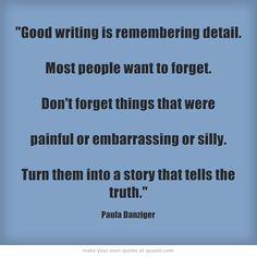 Paula Danziger quote