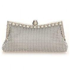 80273d3c04b Diamonds Women Evening Bags Small Purse Clutches Handbags Silver gold black  Rhinestones Evening Bags for Wedding Tote Bag