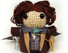 Alright everyone, I've decided to share the crochet pattern for all of the Lord of the Rings characters.  The clothes patterns are up for sa...