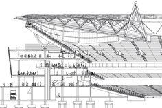 Stadium cross section